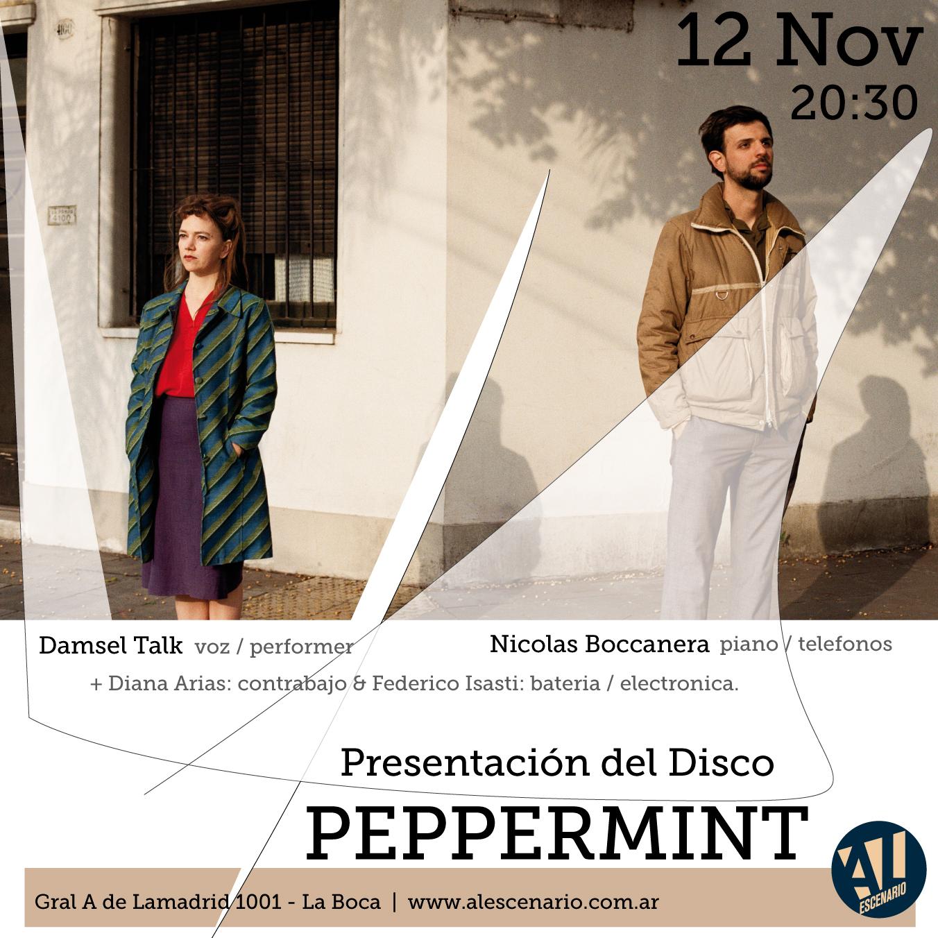 Peppermint Al Escenario